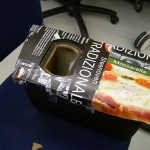 pizza box as protection